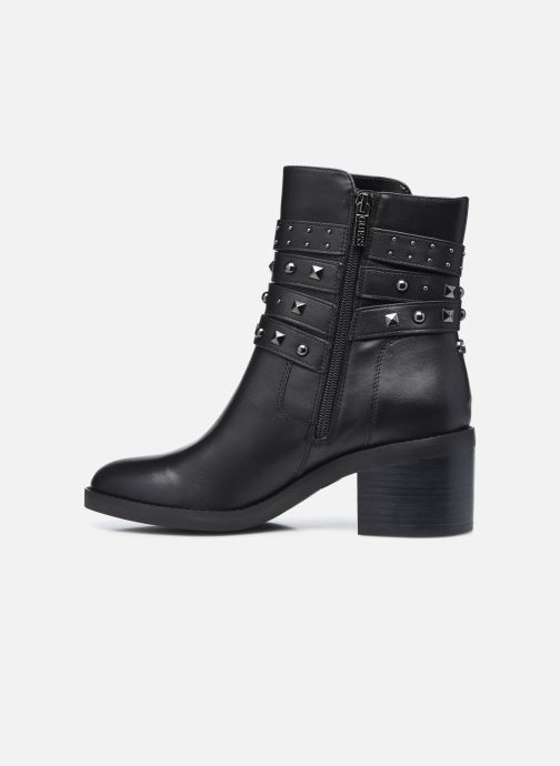 Bottines et boots Guess FL8COL LEA10 Noir vue face