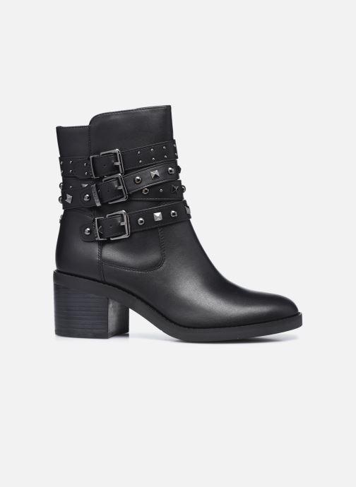 Boots en enkellaarsjes Guess FL8COL LEA10 Zwart achterkant