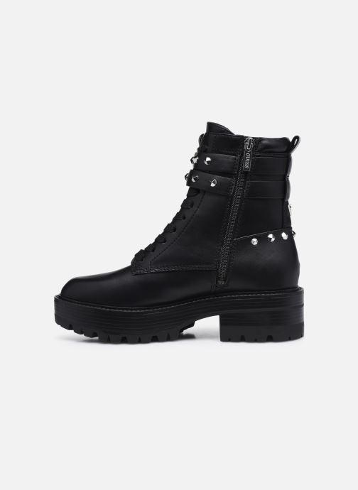 Boots en enkellaarsjes Guess FL8FLO ELE10 Zwart voorkant