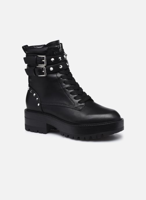 Boots en enkellaarsjes Guess FL8FLO ELE10 Zwart detail