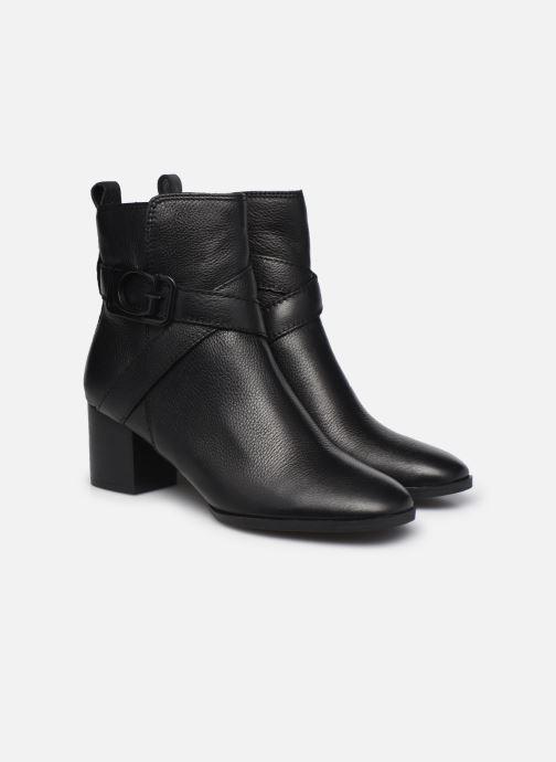 Bottines et boots Guess FL8PAT LEA10 Noir vue 3/4