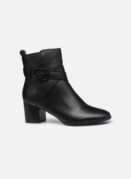 Boots en enkellaarsjes Guess FL8PAT LEA10 Zwart achterkant