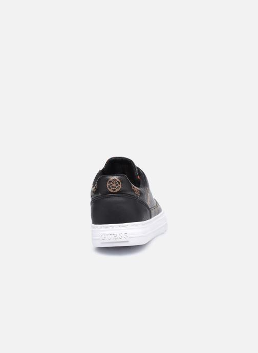 Sneakers Guess FL8LUS FAL12 Nero immagine destra
