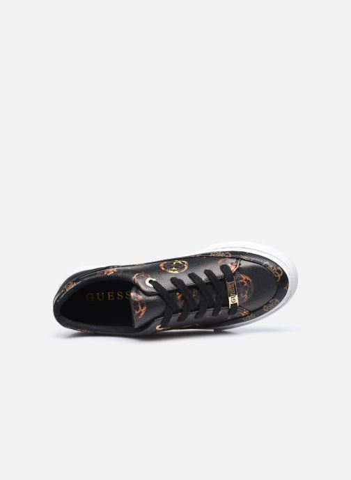 Sneakers Guess FL8LUS FAL12 Nero immagine sinistra