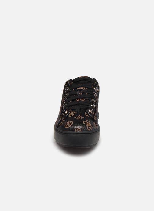 Sneaker Guess FL8FAI FAL12 schwarz schuhe getragen