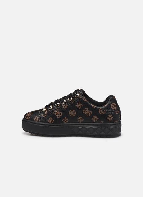 Sneaker Guess FL8FAI FAL12 schwarz ansicht von vorne