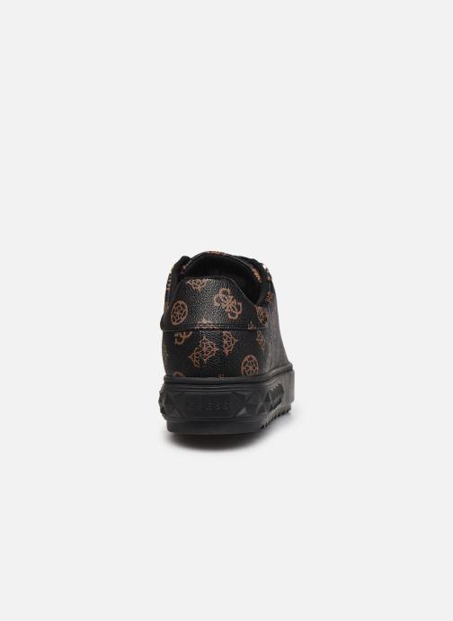 Sneaker Guess FL8FAI FAL12 schwarz ansicht von rechts