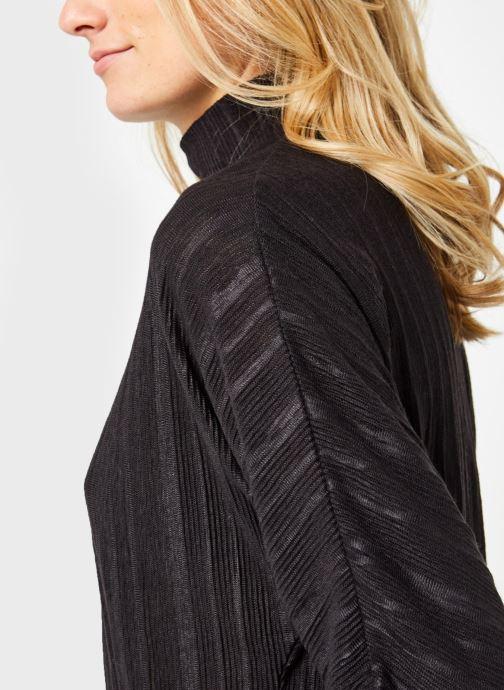 Vêtements OBJECT Objtilia 3/4 Top Noir vue face