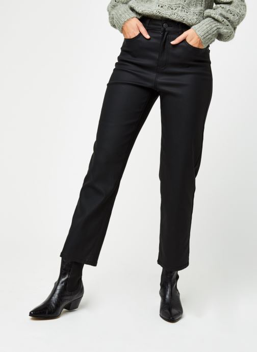 Jean droit - Objmoji Belle Coated Jeans