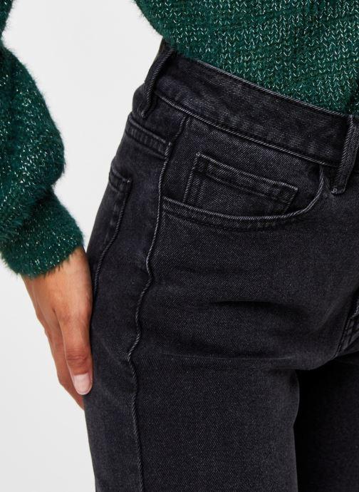 Vêtements OBJECT Objconnie Cropped Black Jeans Noir vue face