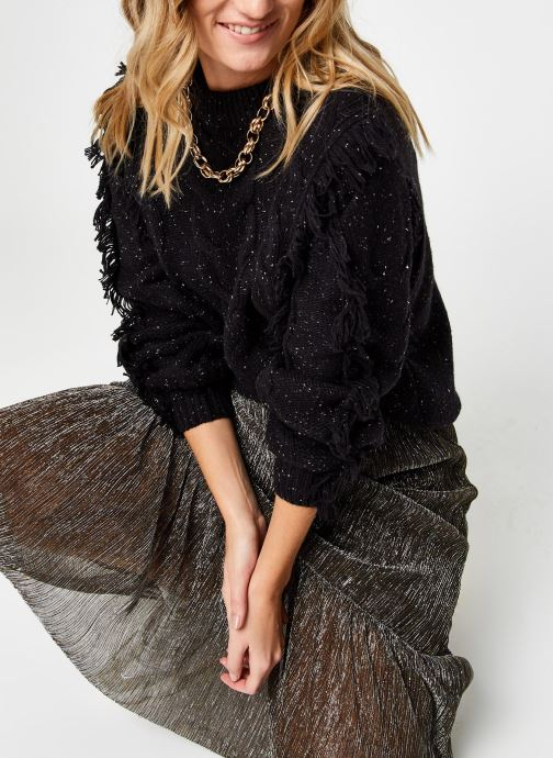 Kleding OBJECT Objdortha Knit Pullover Zwart detail