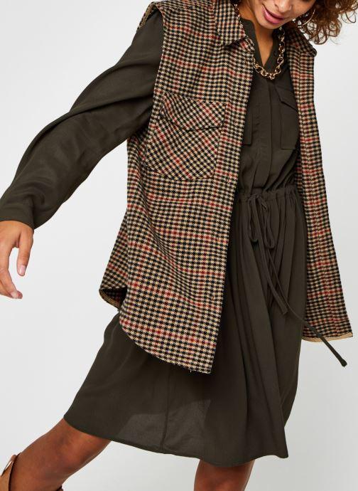 Vêtements OBJECT Objhollis Waistcoat Multicolore vue détail/paire