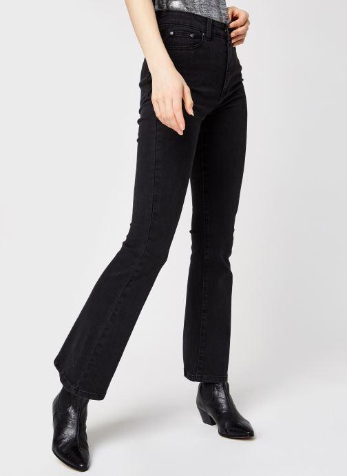 Kleding OBJECT Objwin Denim Flared Jeans Zwart detail