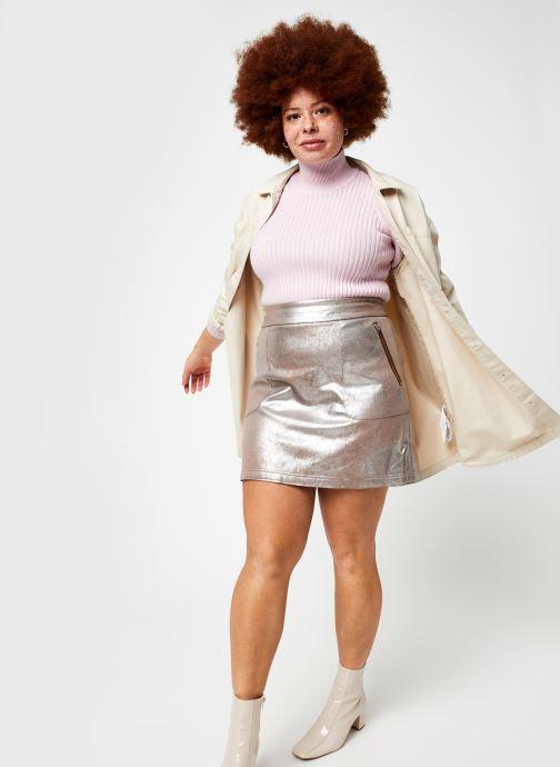 Vêtements OBJECT Objnola Knit Pullover Rose vue bas / vue portée sac