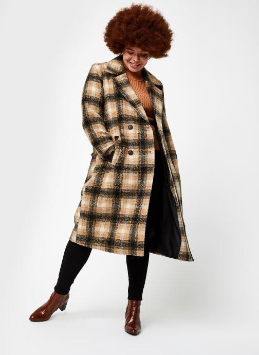 Vêtements OBJECT Objnola Knit Pullover Marron vue bas / vue portée sac