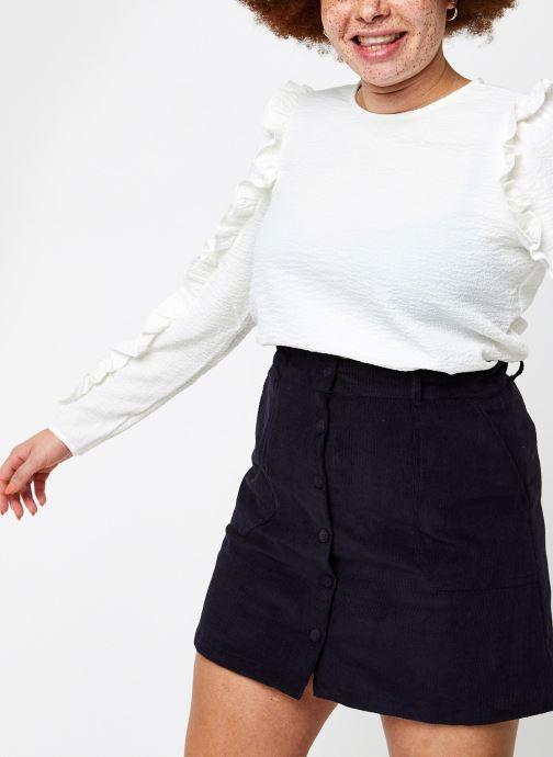 Abbigliamento OBJECT Objevita Top Bianco vedi dettaglio/paio
