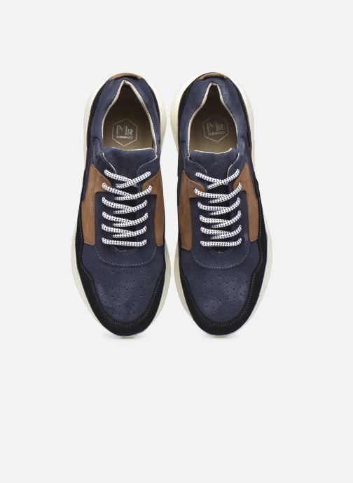 Sneaker Mr SARENZA Padova blau schuhe getragen