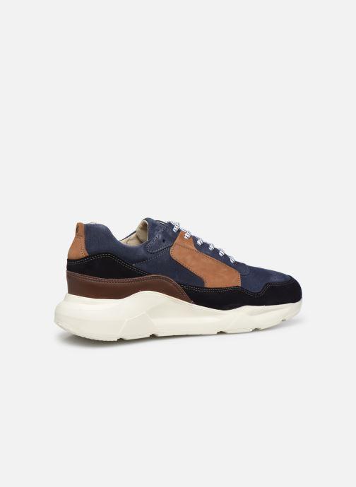 Sneaker Mr SARENZA Padova blau ansicht von vorne