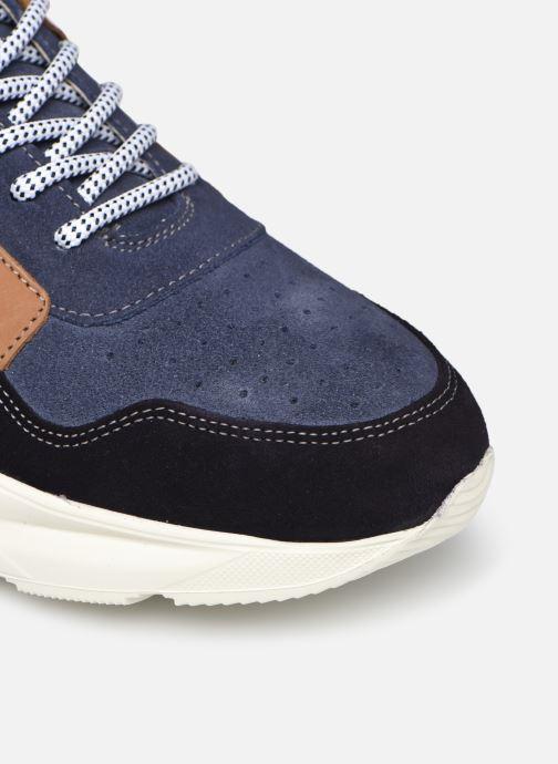 Sneaker Mr SARENZA Padova blau ansicht von links