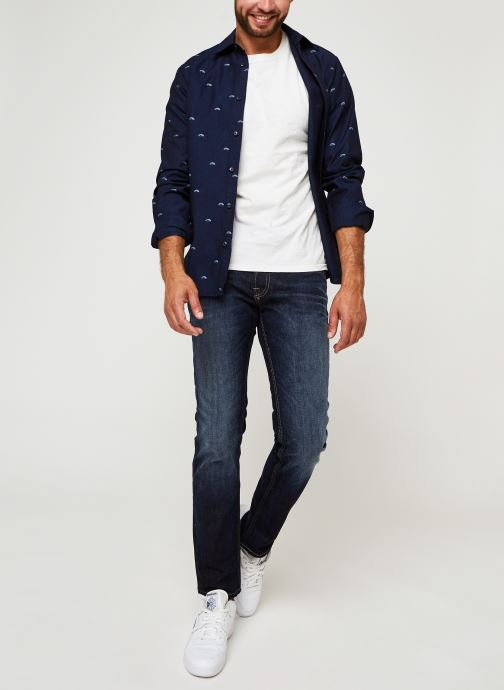 Vêtements Jack & Jones Jjiclark Jjoriginal Bleu vue bas / vue portée sac