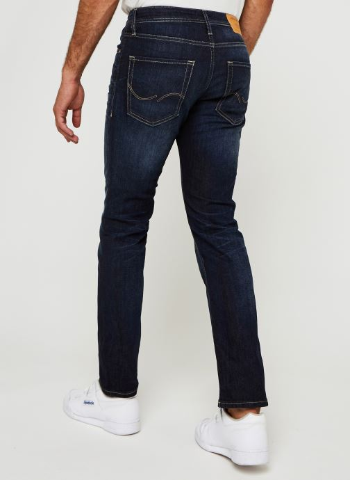 Vêtements Jack & Jones Jjiclark Jjoriginal Bleu vue portées chaussures