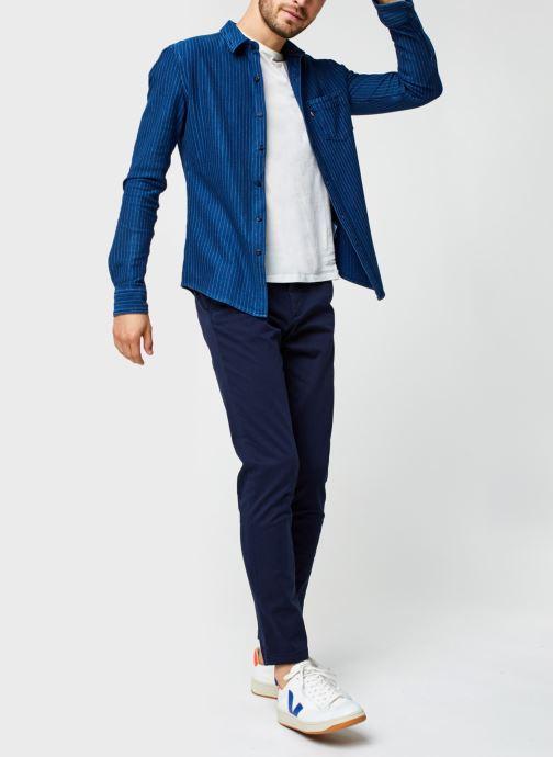 Vêtements Jack & Jones Jjimarco Jjbowie Bleu vue bas / vue portée sac