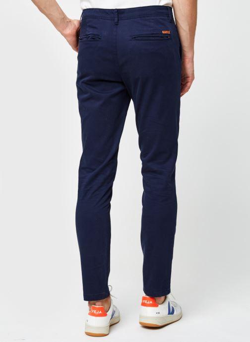 Vêtements Jack & Jones Jjimarco Jjbowie Bleu vue portées chaussures