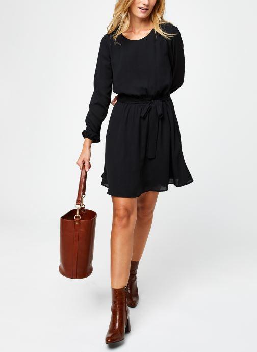 Vêtements Vila Vilucy Dress Noir vue bas / vue portée sac