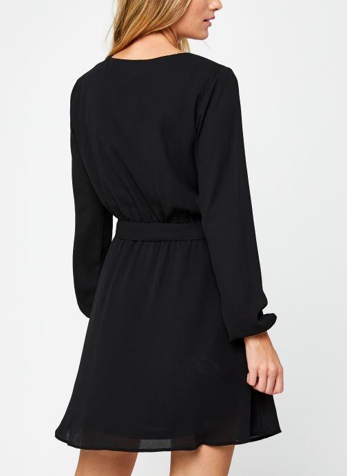 Vêtements Vila Vilucy Dress Noir vue portées chaussures