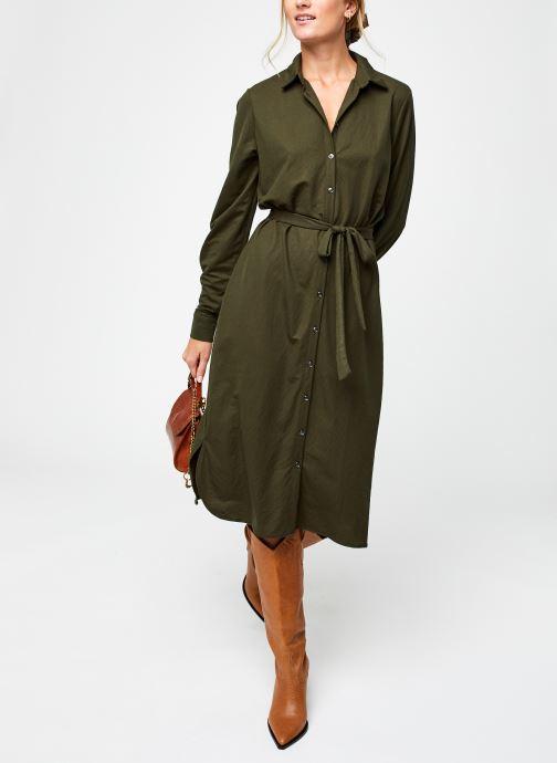 Vêtements Vila Visafina Midi Dress Vert vue bas / vue portée sac