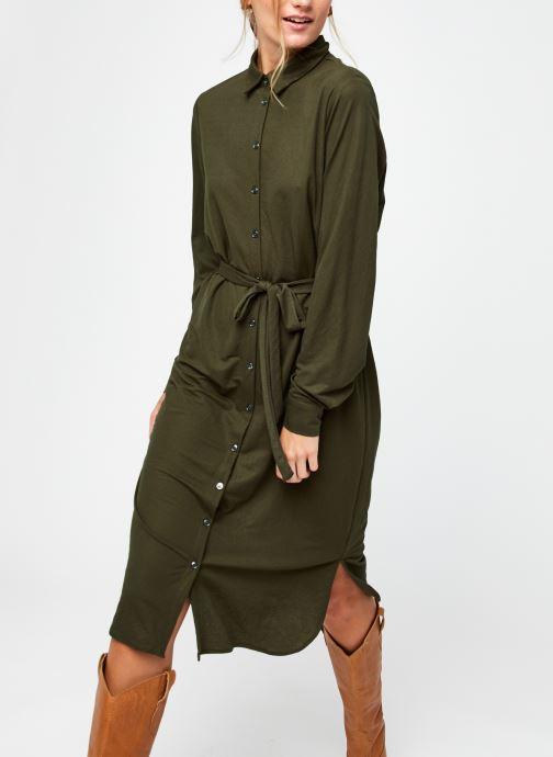 Vêtements Vila Visafina Midi Dress Vert vue détail/paire
