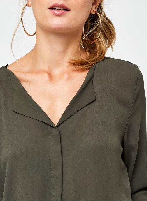 Vêtements Vila Vilucy Shirt Vert vue face