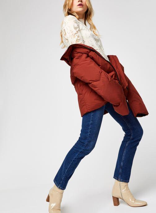 Vêtements Vila Vistasia Lace Top Beige vue bas / vue portée sac