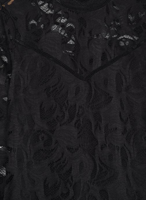 Vêtements Vila Vistasia Lace Top Noir vue face