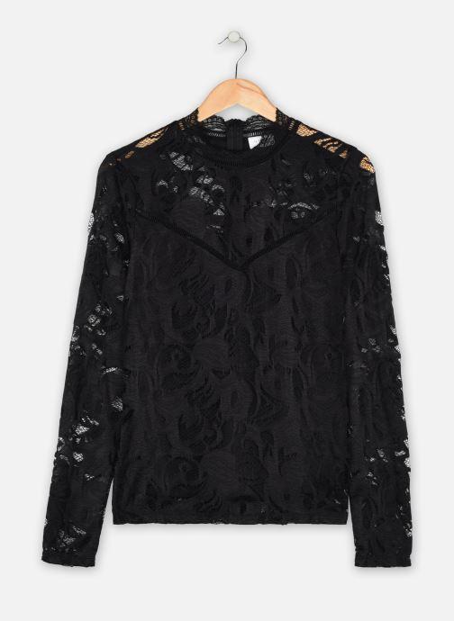 Vêtements Vila Vistasia Lace Top Noir vue détail/paire