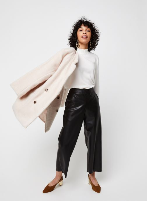 Vêtements Vila Vidania Smock Top Blanc vue bas / vue portée sac
