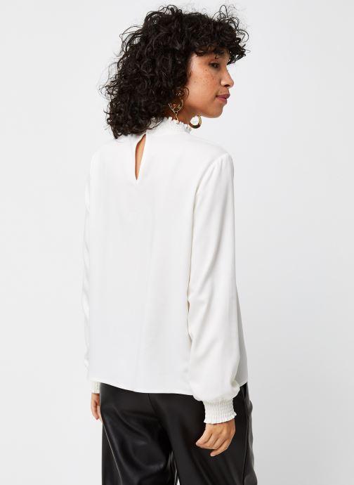 Vêtements Vila Vidania Smock Top Blanc vue portées chaussures
