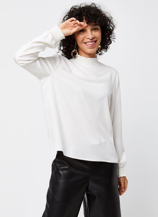 Vêtements Vila Vidania Smock Top Blanc vue droite