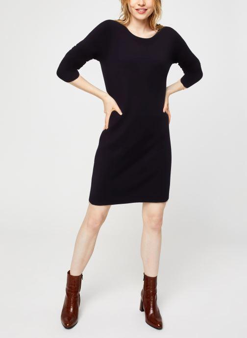 Vêtements Vila Viril Knit Dress Noir vue bas / vue portée sac