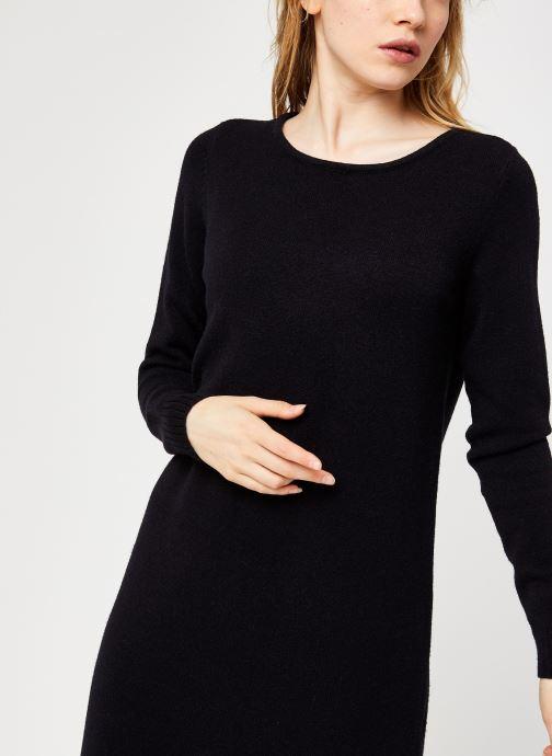 Vêtements Vila Viril Knit Dress Noir vue face