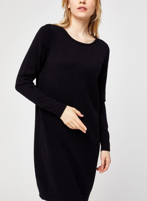 Vêtements Vila Viril Knit Dress Noir vue droite
