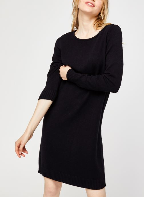 Vêtements Vila Viril Knit Dress Noir vue détail/paire