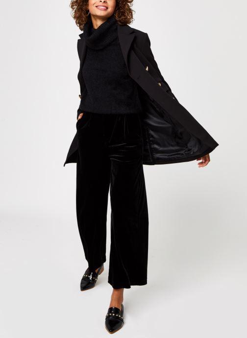 Vêtements Vila Vifeami Knit Rollneck Top Noir vue bas / vue portée sac