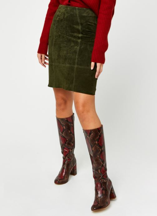 Kleding Accessoires Vifaith Hw Suede Skirt