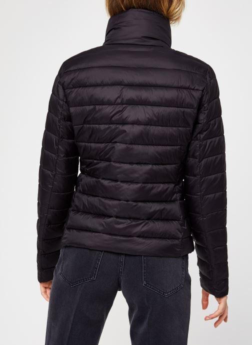 Vêtements Vila Visibiria Jacket Noir vue portées chaussures