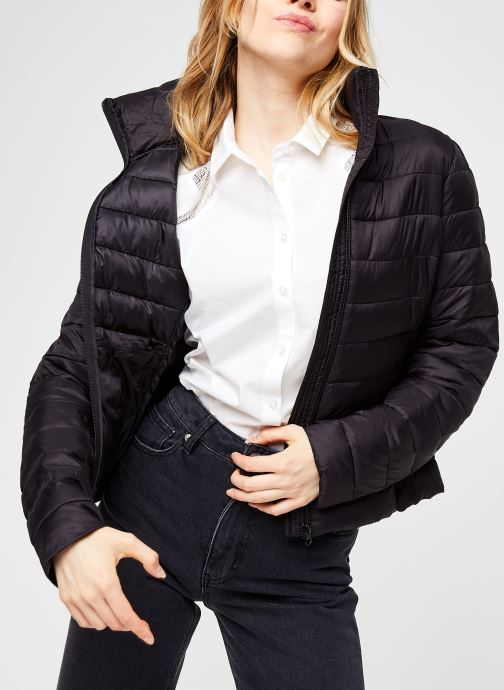 Vêtements Vila Visibiria Jacket Noir vue détail/paire