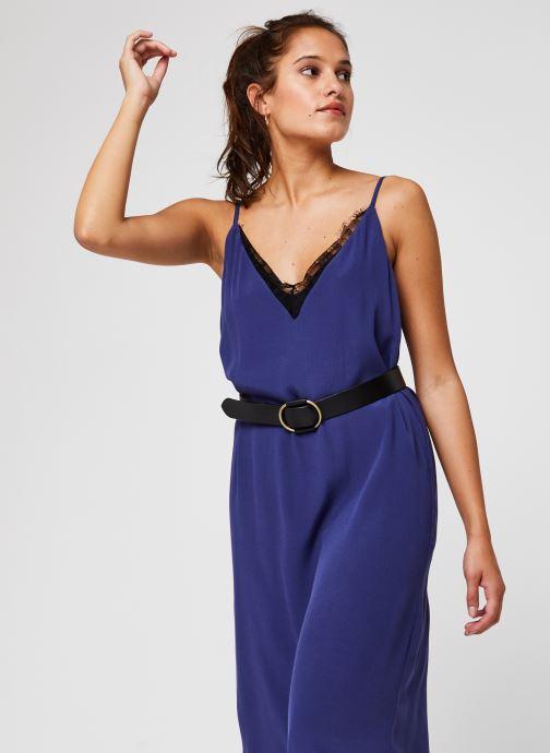 Vêtements Vila Vinicolina Midi Dress Bleu vue détail/paire