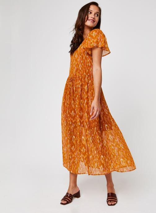 Vêtements Vila Visavina Lenoa Ancle Dress Jaune vue bas / vue portée sac