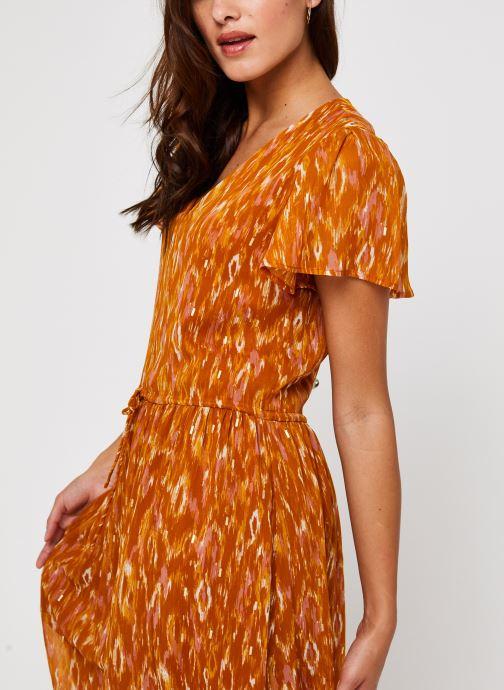 Vêtements Vila Visavina Lenoa Ancle Dress Jaune vue face