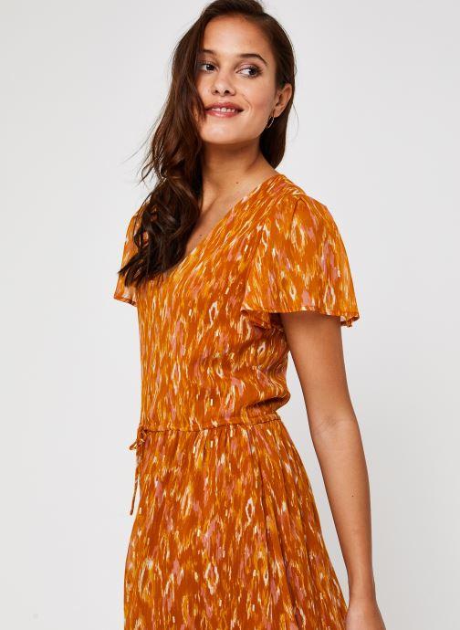 Vêtements Vila Visavina Lenoa Ancle Dress Jaune vue détail/paire